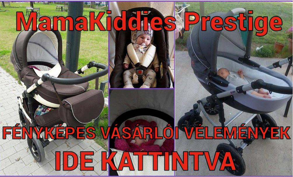MamaKiddies Prestige babakocsi f�nyk�pes olvas�i v�lem�nyek