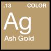 Pigments Ash Gold .13